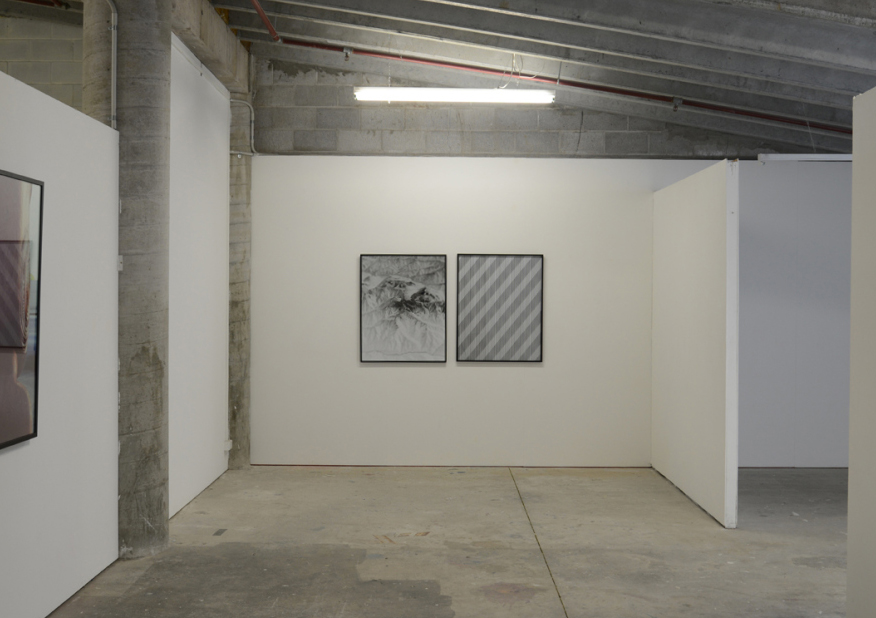 Riley Claxton masters exhibition view. a distance so vast